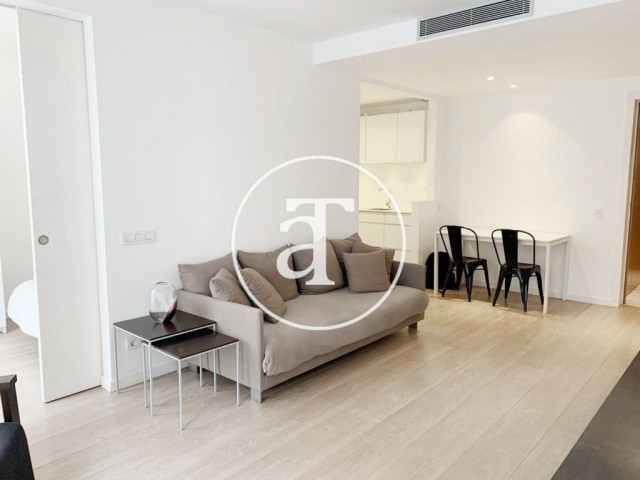 Furnished and equipped apartment in Sarriá- San Gervasy